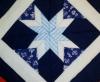 Skládaný patchwork   Chňapka nebo polštář