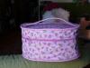 Kulatý kosmetický kufřík
