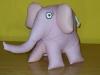Ušijeme slona (+malá skládaná srdíčka jako dárky)