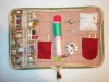 Pouzdro na šitíčko+ šablony na šití babiččiny zahrádky