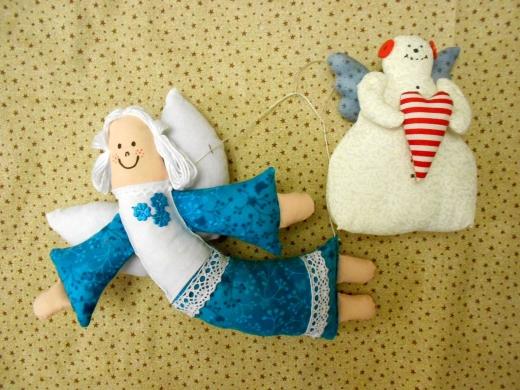 Andílek a sněhulák